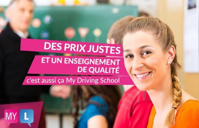 À vite découvrir : les tarifs de My Driving School